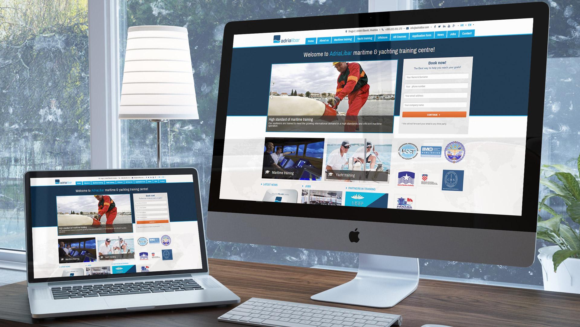 Web pomorskog učilišta