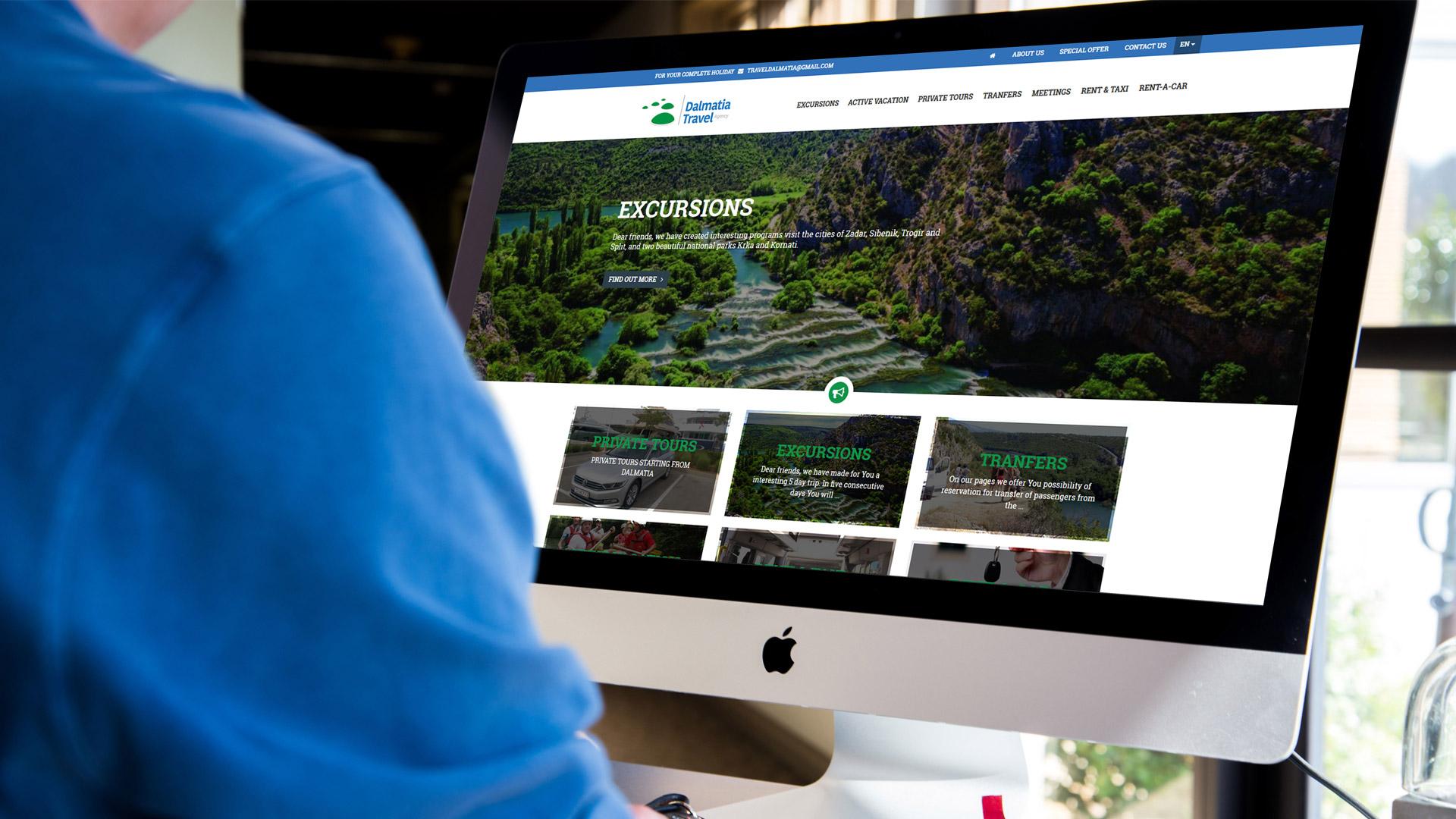 Web stranice turističke agencije