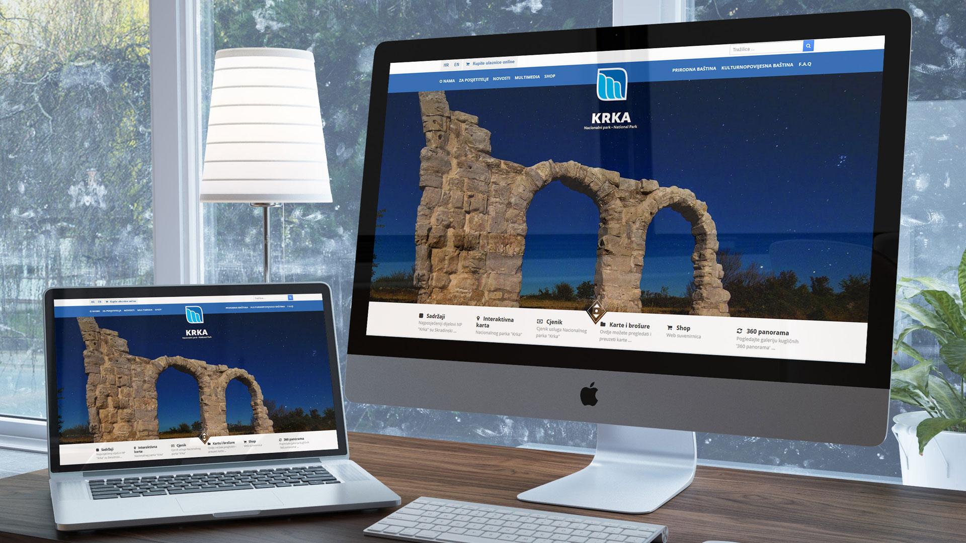 Službene web stranice nacionalnog parka