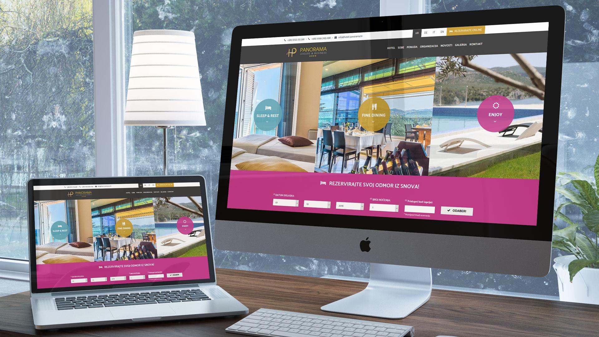 Internet stranice hotela