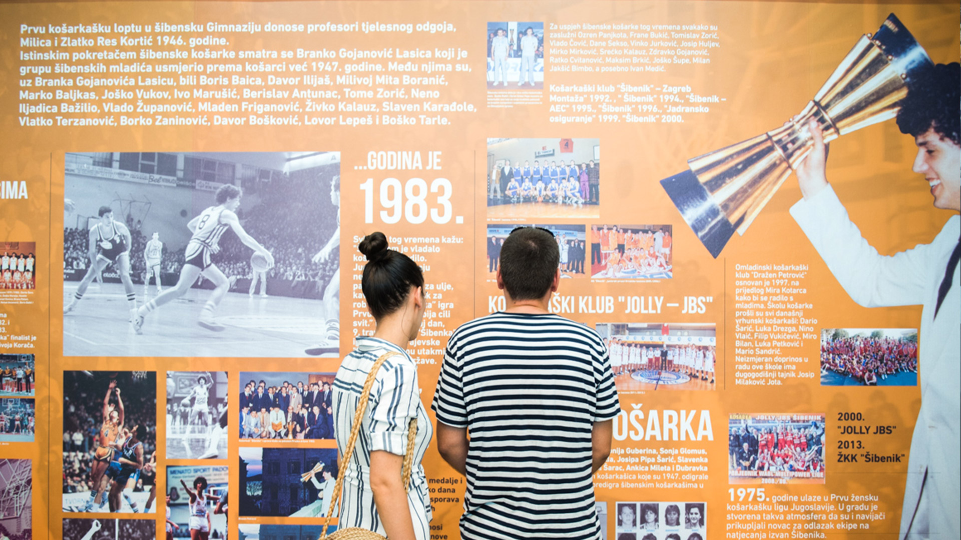 Likovni postav izložbe
